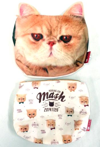 【中古】バッグ(キャラクター) 全2種セット クラッチポーチ 「猫のマッシュ」