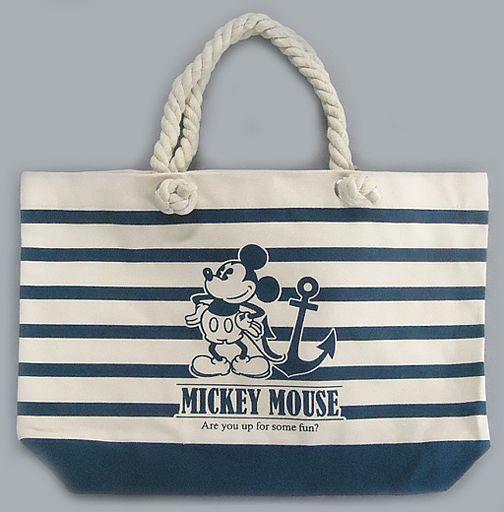 【中古】バッグ(キャラクター) ミッキーマウス ミッキー&ミニー プレミアムマリントートバッグ 「ディズニー」