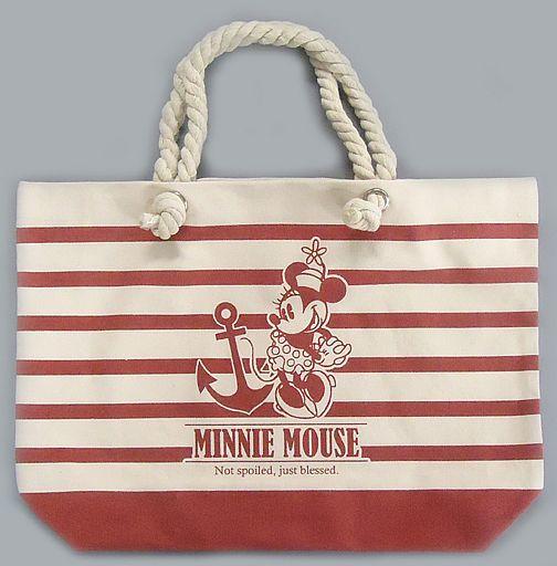 【中古】バッグ(キャラクター) ミニーマウス ミッキー&ミニー プレミアムマリントートバッグ 「ディズニー」