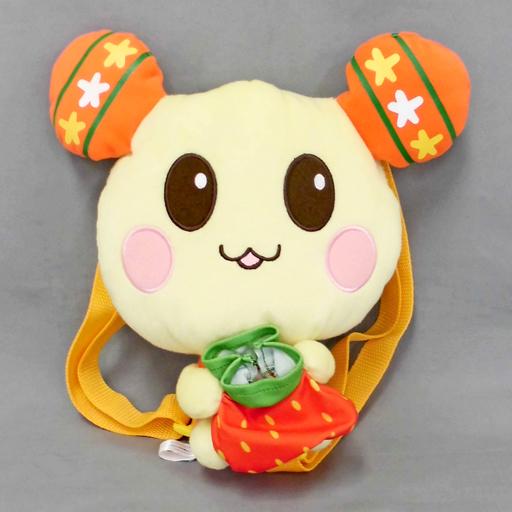 【中古】バッグ(キャラクター) うーたん プレミアムフルーツ巾着付ぬいぐるみリュック 「ワンワンとうーたん」