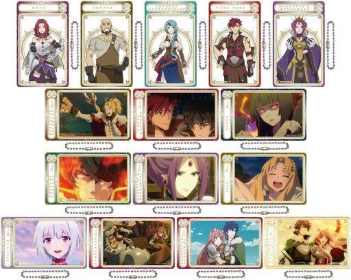全15種セット 「盾の勇者の成り上がり アクリルトレーディングカード 第二弾」