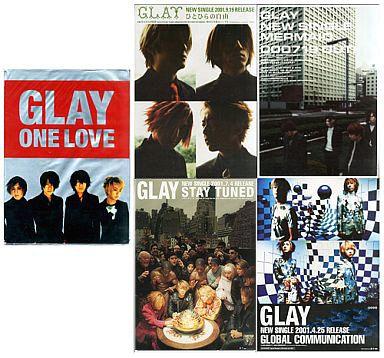 【中古】ポスター(男性) ポスター4種セット GLAY 「ONE LOVE」 初回購入特典
