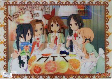 特大スーパー3Dポスター 平沢唯 Birthday Ver. 「映画 けいおん!」 TBS限定