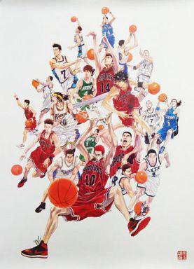 各校のバスケ部が集まったスラムダンクの画像