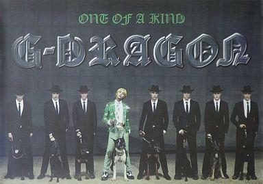 【中古】ポスター(男性) ポスター G-DRAGON(from BIGBANG) 「CD One of A Kind 韓国盤」 購入特典