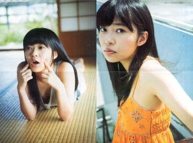 リバーシブルポスターC(二つ折) 指原莉乃(HKT48) 衣装:オレンジ/畳 「指原莉乃ファースト写真集 『猫に負けた』」 付録