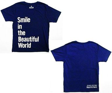 嵐 Tシャツ ネイビー Fサイズ 「ARASHI LIVE TOUR Beautiful World」