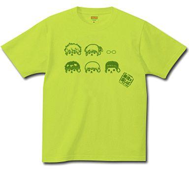 【中古】Tシャツ(キャラクター) デザイン01(銀魂キャラクター) Tシャツ グリーン Mサイズ 「劇場版銀魂 完結篇 万事屋よ永遠なれ×豆しば」