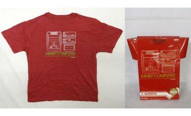 【中古】Tシャツ(キャラクター) ファミリーコンピューター Tシャツ ダークレッド 「Nintendoプライズコレクションシリーズ」