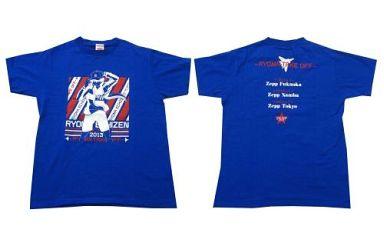 【中古】Tシャツ(キャラクター) 越前リョーマ Tシャツ ブルー Sサイズ 「越前リョーマ LIVE TOUR 2013-RYOMA TAKE OFF-」