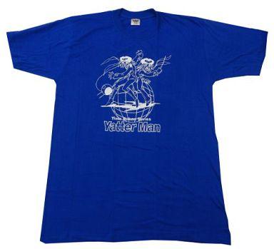 【中古】Tシャツ(キャラクター) ヤッターマン1号&ヤッターマン2号 タツノコキャラクターカラーTシャツ ブルー フリーサイズ 「ヤッターマン」