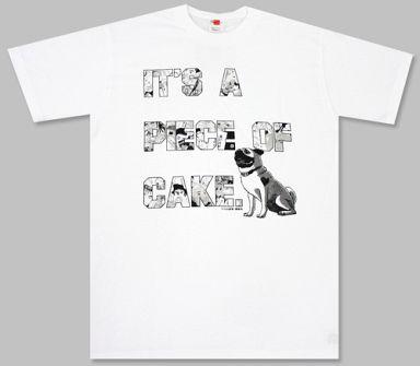 【中古】Tシャツ(キャラクター) IT'S A PIECE OF CAKE LUNAR DREAMTシャツ ホワイト フリーサイズ 「ポカリスエット×宇宙兄弟」 ポカリスエット LUNAR DREAM CAMPAIGN B賞