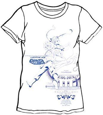 type STATUS コラボTシャツ ホワイト Lサイズ 「LIVERTINEAGE×ダンジョンに出会いを求めるのは間違っているだろうか」   新品    Tシャツ(キャラクター)   通販ショップ ...