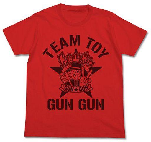 【中古】Tシャツ(キャラクター) トイ☆ガンガンTシャツ フレンチレッド Lサイズ 「青春×機関銃」