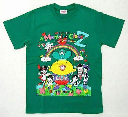 【中古】Tシャツ(女性アイドル) 有安杏果 おでんくんwithももいろクローバーZ Tシャツ グリーン Mサイズ 「ももクロ春の一大事2012?横浜アリーナ まさかの2DAYS?」