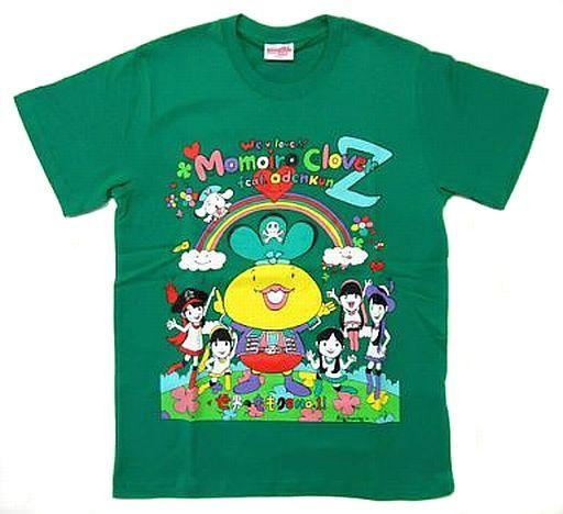 【中古】Tシャツ(女性アイドル) 有安杏果 おでんくんwithももいろクローバーZ Tシャツ グリーン Lサイズ 「ももクロ春の一大事2012?横浜アリーナ まさかの2DAYS?」