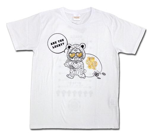 ジャニーズWEST Tシャツ ホワイト フリーサイズ 「ジャニーズWEST CONCERT TOUR 2016 ラッキィィィィィィィ7」