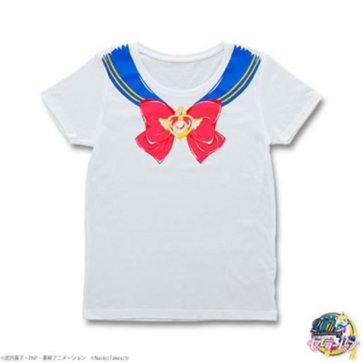 【中古】Tシャツ(キャラクター) スーパーセーラームーン なりきりセーラーTシャツ ホワイト レディースMサイズ 「美少女戦士セーラームーンSuperS」