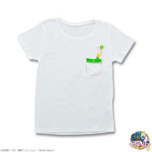 【中古】Tシャツ(キャラクター) セーラージュピター 変装ペン&変身ペンTシャツ ホワイト レディースMサイズ 「美少女戦士セーラームーン」
