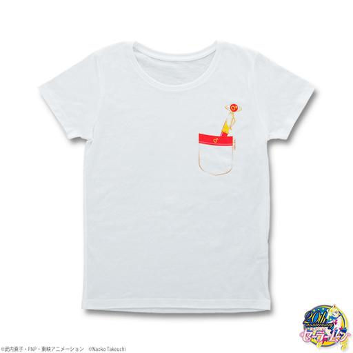【中古】Tシャツ(キャラクター) セーラーマーズ 変装ペン&変身ペンTシャツ ホワイト レディースMサイズ 「美少女戦士セーラームーン」