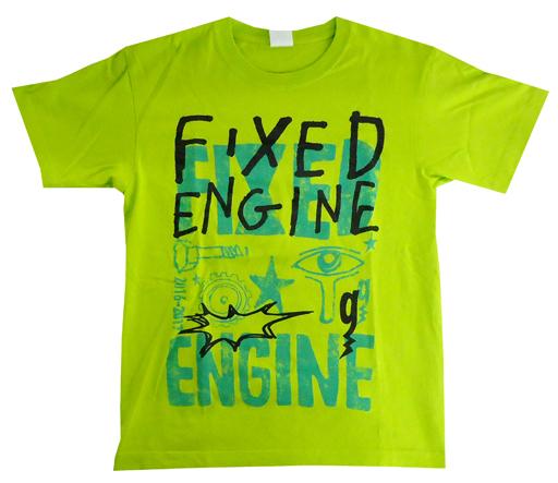 """【中古】Tシャツ(男性アイドル) OLDCODEX Tシャツ ネオグリーン Lサイズ 「OLDCODEX Tour 2016-2017 """"FIXED ENGINE""""」"""