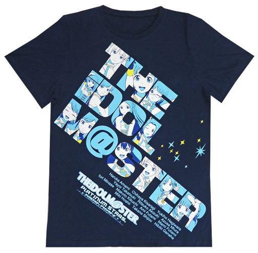 【中古】Tシャツ(キャラクター) Tシャツ ネイビー 男性向けLサイズ 「一番くじ アイドルマスター プラチナスターズ」 A賞