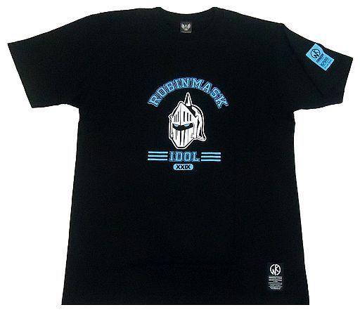 【新品】Tシャツ(キャラクター) ロビンマスク Tシャツ ブラック Sサイズ 「キン肉マン×CORAZON」