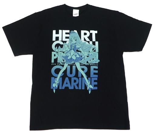 キュアマリン Tシャツ ブラック Lサイズ 「ハートキャッチプリキュア!」