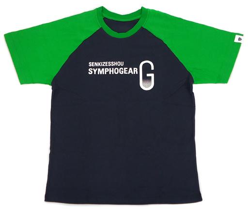 【中古】Tシャツ(キャラクター) 暁切歌 キャラクターTシャツ ブラック×グリーン Mサイズ 「戦姫絶唱シンフォギアG」 シンフォギアライブ2013グッズ