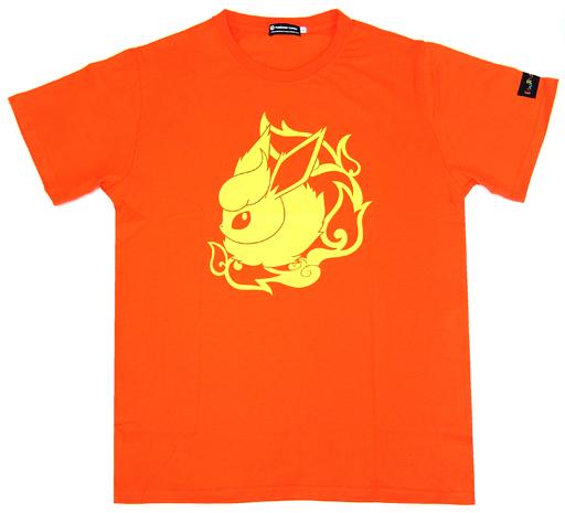 【中古】Tシャツ(キャラクター) ブースター Tシャツ Colorful オレンジ Sサイズ 「ポケットモンスター」 ポケモンセンター限定
