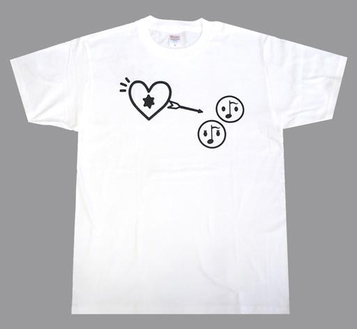【中古】Tシャツ(男性アイドル) α-X's(アクロス) Tシャツ ホワイト Mサイズ