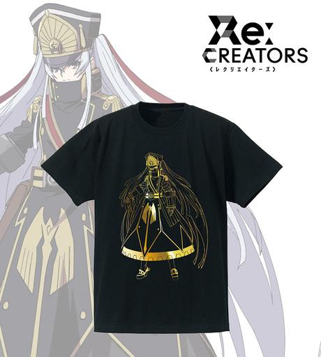 【中古】Tシャツ(キャラクター) アルタイル(軍服の姫君) 箔Tシャツ ブラック レディースLサイズ 「Re:CREATORS」
