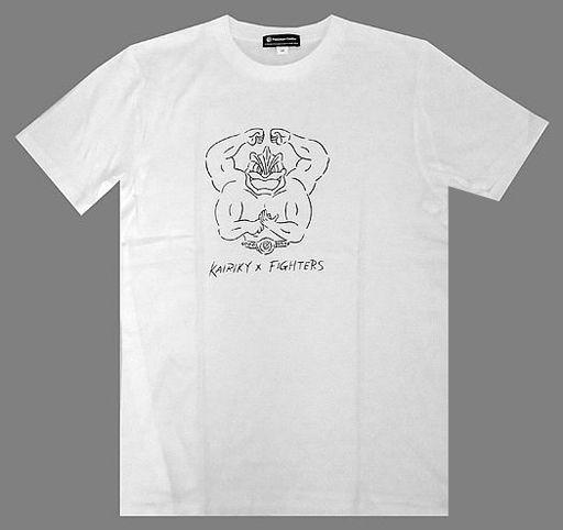 【中古】Tシャツ(キャラクター) D.ファイターズ×カイリキー Tシャツ ホワイト 130cm 「北海道日本ハムファイターズ×ポケットモンスター」 ポケモンセンター限定