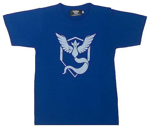 【中古】Tシャツ(キャラクター) Pokemon GO チームミスティック Tシャツ ブルー KIDSサイズ 「ポケットモンスター」 ポケモンセンター限定