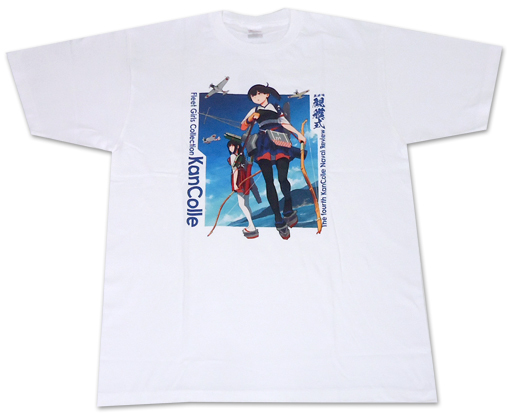 【中古】Tシャツ(キャラクター) 加賀&赤城 公式Tシャツ II型 ホワイト フリーサイズ 「艦隊これくしょん?艦これ? 第肆回「艦これ」観艦式」