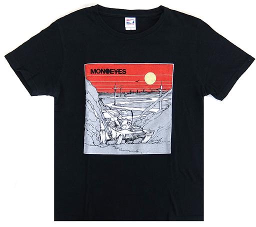【中古】Tシャツ(男性アイドル) MONOEYES フェスTシャツ ブラック Sサイズ 2015 Summer Fes グッズ