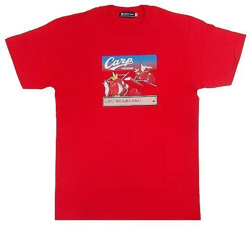 【中古】Tシャツ(キャラクター) コイキング×カープ2(たたかう) Tシャツ レッド Mサイズ 「広島東洋カープ×ポケットモンスター」 ポケモンセンター限定