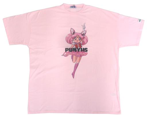 【中古】Tシャツ(キャラクター) セーラーちびムーン Tシャツ ライトピンク フリーサイズ 「美少女戦士セーラームーン×PUNYUS」