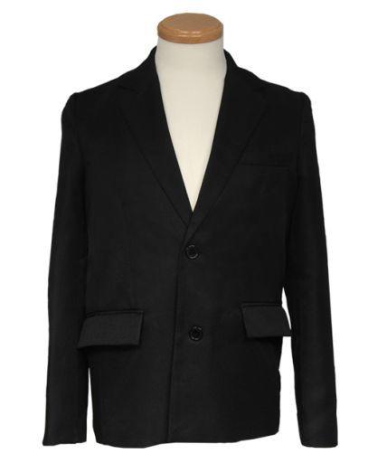 スワローテイル 新品 コスプレ衣装・グッズ(キャラクター) テーラードジャケット ブラック LLサイズ [4000-1-bk]