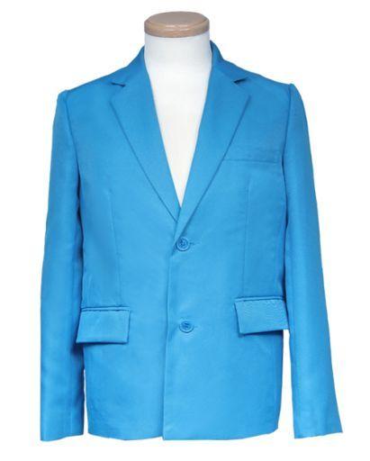 スワローテイル 新品 コスプレ衣装・グッズ(キャラクター) テーラードジャケット ブルー Sサイズ [4000-1-bl]