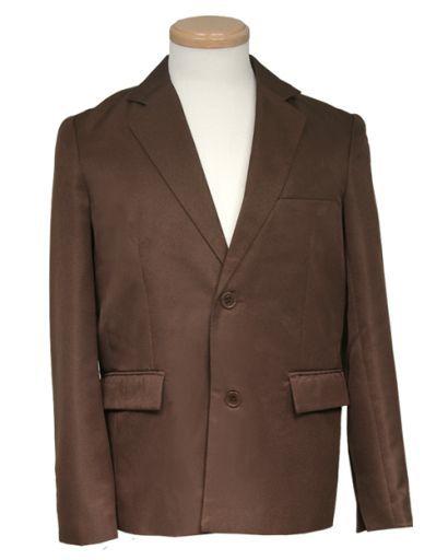 スワローテイル 新品 コスプレ衣装・グッズ(キャラクター) テーラードジャケット ブラウン Sサイズ [4000-1-bw]