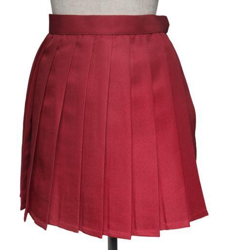 スワローテイル 新品 コスプレ衣装・グッズ(キャラクター) プリーツスカート レッド Sサイズ [4000-4-rd]