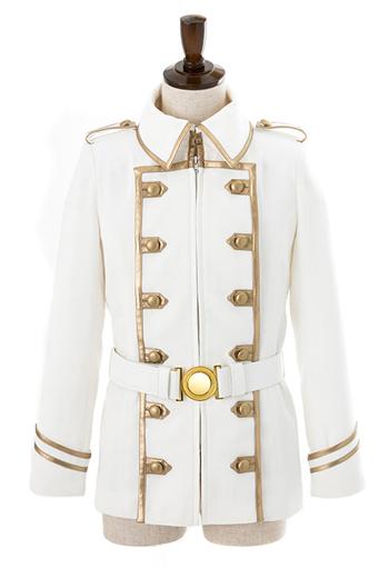 カウレス・フォルヴェッジ・ユグドミレニアのジャケット ホワイト XLサイズ 「Fate/Apocrypha」