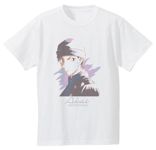【中古】Tシャツ(キャラクター) 赤井秀一 Ani-Art Tシャツ ホワイト レディースLサイズ 「名探偵コナン」