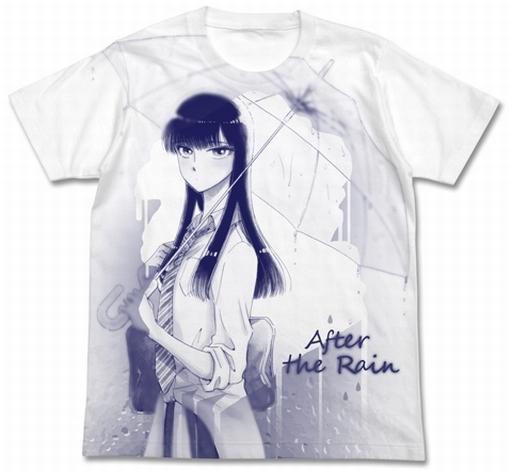 【新品】Tシャツ(キャラクター) 橘あきら Tシャツ ホワイト Lサイズ 「恋は雨上がりのように」