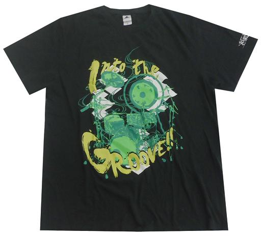 【中古】Tシャツ(女性アイドル) 和楽器バンド Into The Groove!! Tシャツ ブラック XLサイズ 「和楽器バンド TOUR 2018 音ノ回廊 -oto no kairou-」