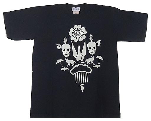 【中古】Tシャツ(女性アイドル) 東京事変 予感Tシャツ 黒紫色 YouthLサイズ 2004年夏グッズ