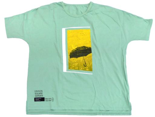 UNISON SQUARE GARDEN 窓枠Tシャツ(ドルマン) ミントグリーン Lサイズ 「『UNICITY』会員限定イベント『Bee side Sea side 0』」
