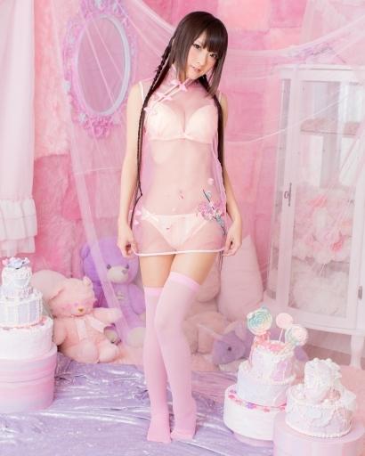 BODYLINE 新品 コスプレ衣装・グッズ(キャラクター) 透けチャイナ フリーサイズ