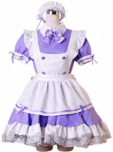 BODYLINE 新品 コスプレ衣装・グッズ(キャラクター) costume452 東京エンジェルメイド コスチューム パープル 2Lサイズ